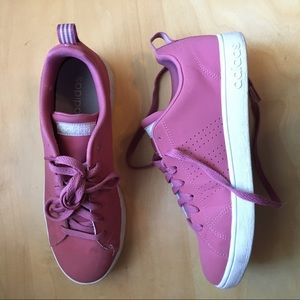 classic pink adidas sneakers